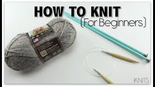 HOW TO KNIT - FΟR BEGINNERS