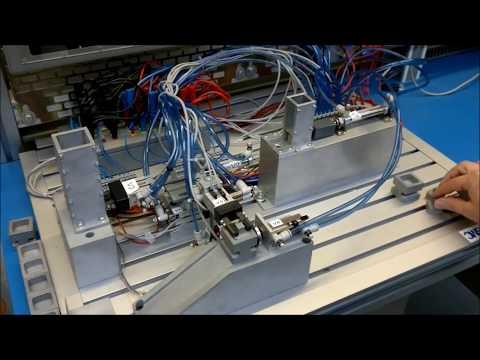 Travail pratique d'automatisme industriel - maquette électro-pneumatique