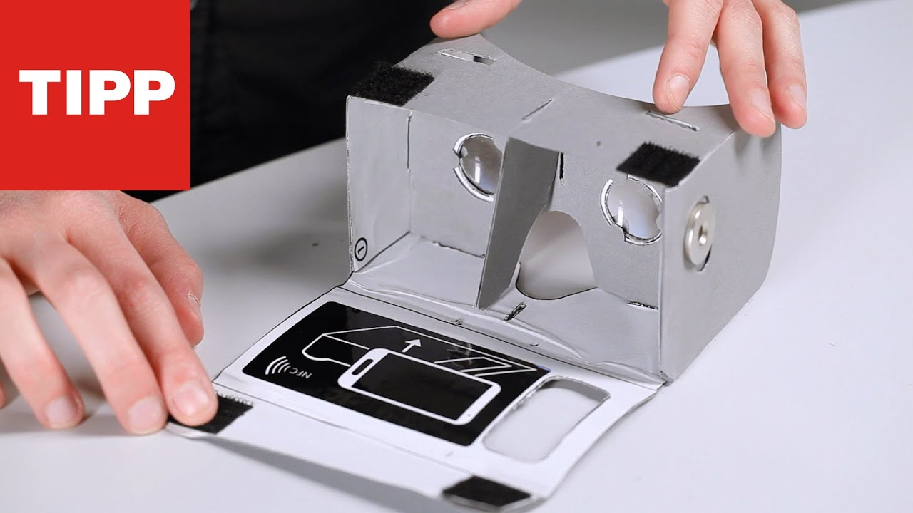 Cardboard Vr Brille Basteln : Google vr brille so einfach gelingt der eigenbau youtube