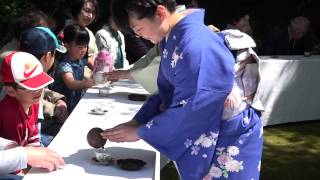 On April 26th, a great tea ceremony was held in Asuwa Mountain loca...