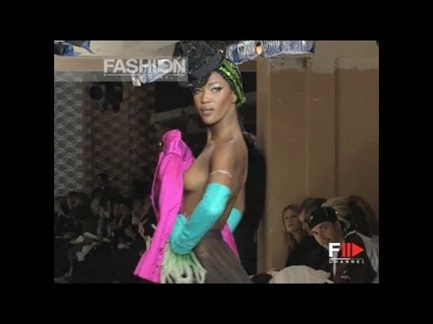 "Fashion show – Jean Paul Gaultier – Paris Fashion Week 2003 ""FLYING JACKETS"" by Fashion Channel"