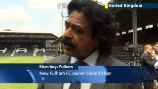 US billionaire Shahid Khan buys Fulham FC: Khan is latest American to own an English football club