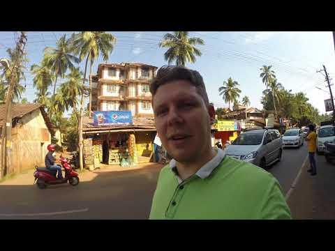 Индия, Гоа   Фрукты, обмен денег, рынок Калангут