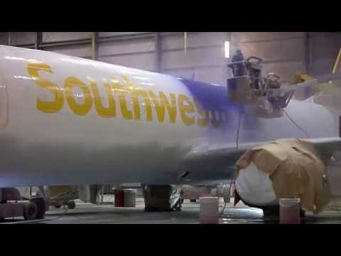 Painting Of New Livery Southwest Airlines Heart livery on a 737