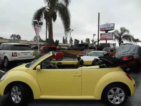 2007 Volkswagen New Beetle 2.5 PZEV Convertible 2dr (Huntington Beach, California)