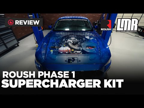 2018-19 Mustang Roush Supercharger Phase 1 Kit - Review/Dyno/Test Drive