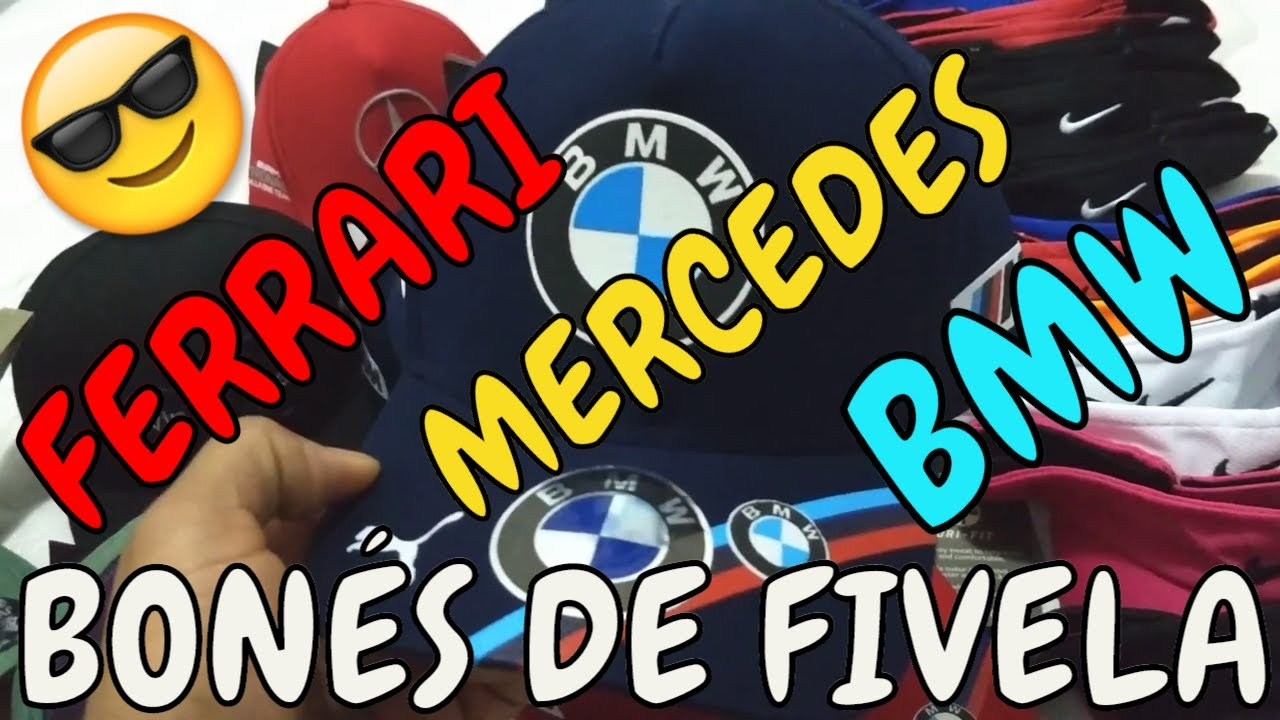 Bonés BMW Mercedes Pólo Atacado e Varejo - YouTube 8dc1f5de632