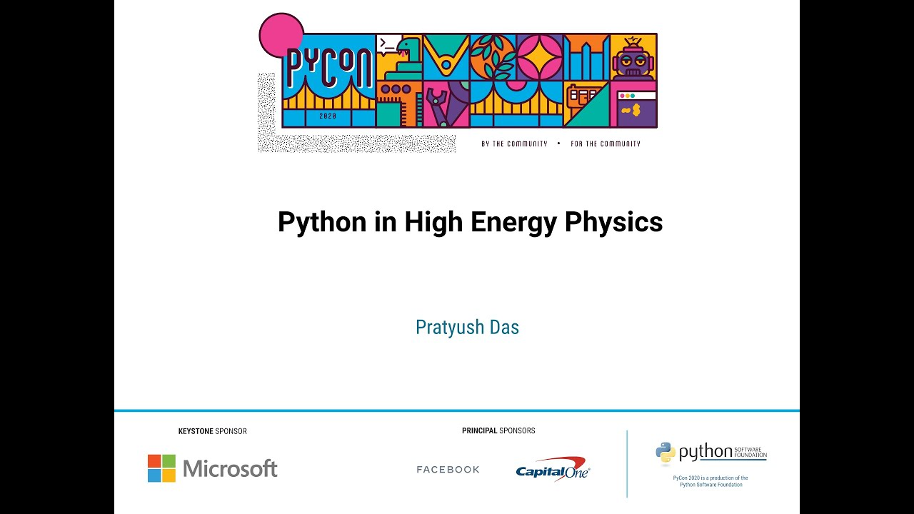Image from Python in High Energy Physics