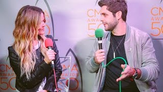 Thomas Rhett Talks about Christmas, Grocery Shopping and Grilling