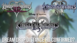 Dream Drop Distance and Kingdom Hearts 3 in 2.5! - DDD HD Confirmed?