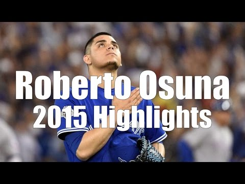 Roberto Osuna - Toronto Blue Jays - 2015 Highlight Mix HD