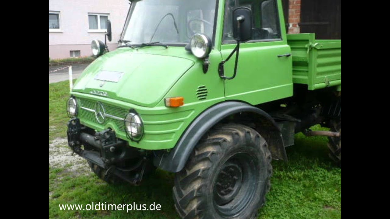 mercedes unimog 406 von 1969 mit 84 ps youtube. Black Bedroom Furniture Sets. Home Design Ideas