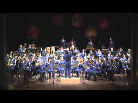 Dechový orchestr mladých ZUŠ Krnov hraje: Rob  Folk - The Police Academy March