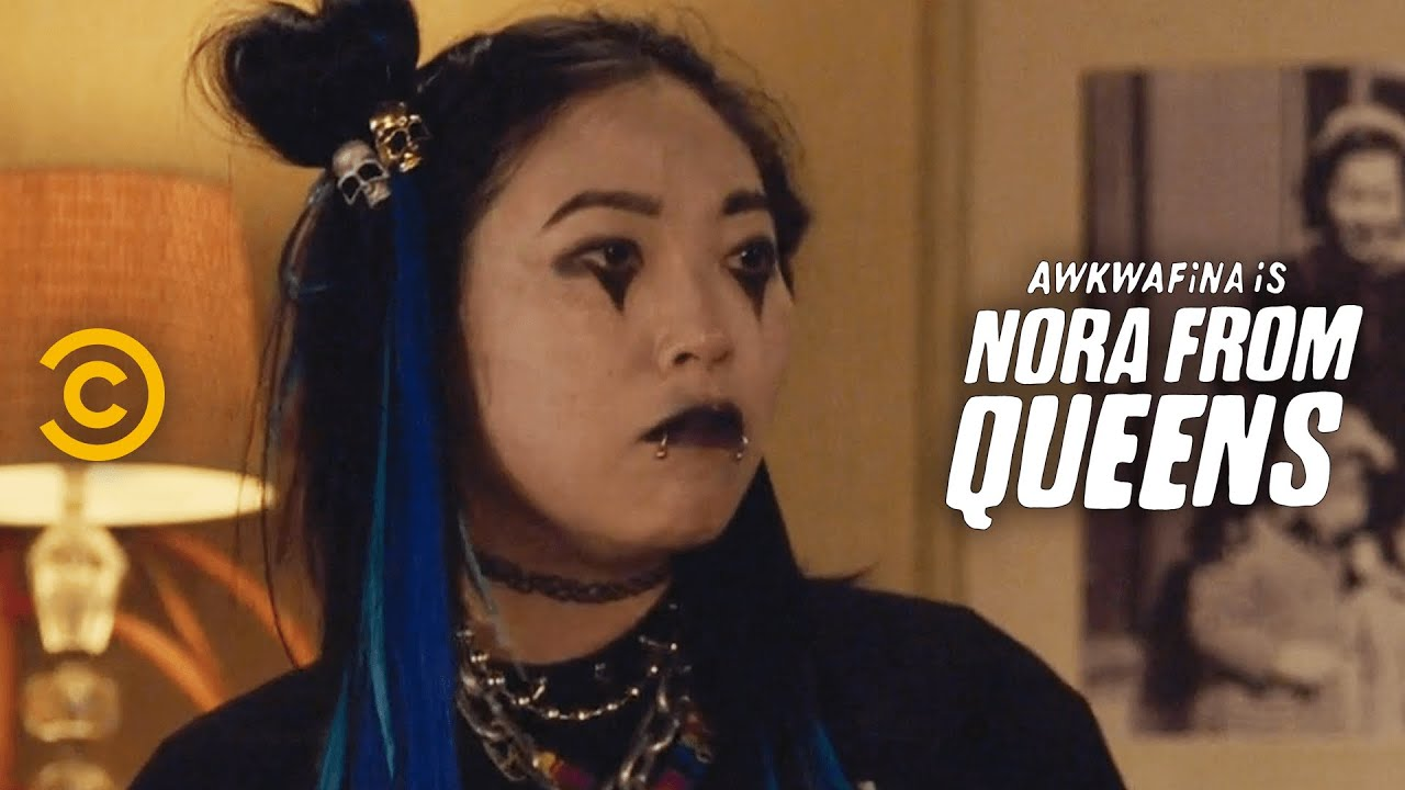 Nora Finally Meets Brenda at Dinner - Awkwafina is Nora from Queens