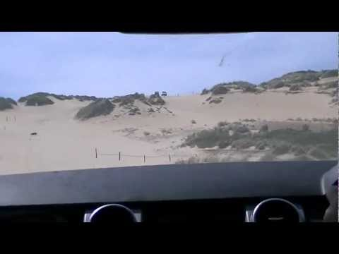 Land Rover Discovery 3 V8 HSE in sand