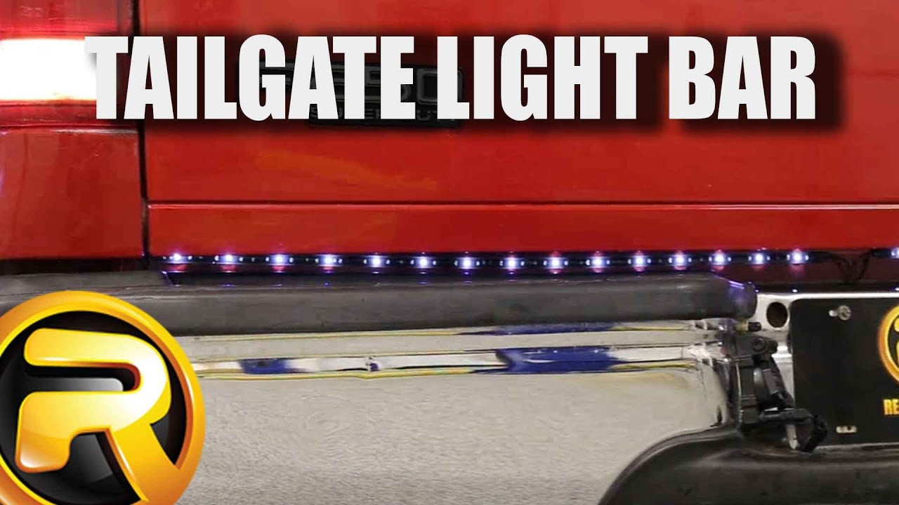 How to install plasmaglow fire ice led tailgate light bar youtube how to install plasmaglow fire ice led tailgate light bar aloadofball Image collections