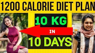 Diet Plan To Lose Weight Fast  LOSE 10KG IN 10 DAYS
