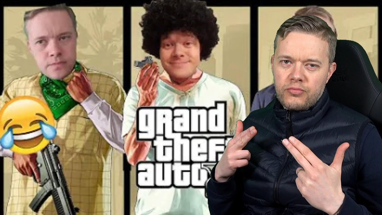 Goldbridge Reacts to GTA V BEST BITS & WORST Football Tackles