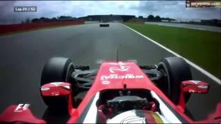 Vettel Overtake Silverstone