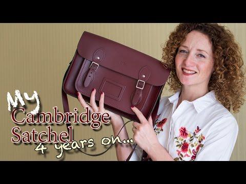 My Cambridge Satchel 4 years on | Handbag review | Lisa Blundell