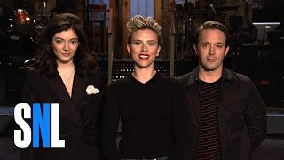 SNL with Scarlett Johansson & Lorde Is About To Drop