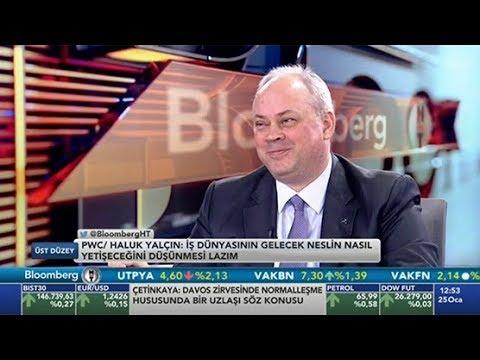 PwC Türkiye Başkanı Halûk Yalçın, 21. CEO Araştırması'nı tüm yönleriyle Bloomberg HT'de anlattı