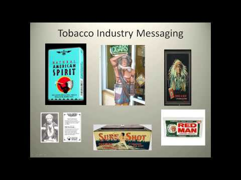 Commercial Tobacco Abuse Messaging in Indian Country