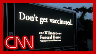 North Carolina 'funeral home' ad has message for unvaccinated