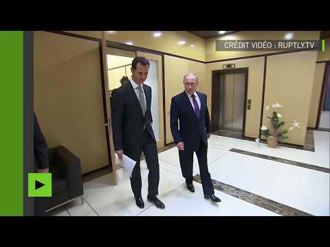 Poutine poursuit son «marathon diplomatique» pour résoudre le conflit syrien, selon le porte-parole