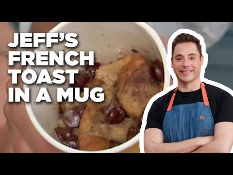 Jeff's French Toast in a Mug | Food Network