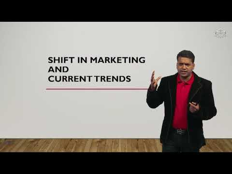 Shift in Marketing and Current Trends
