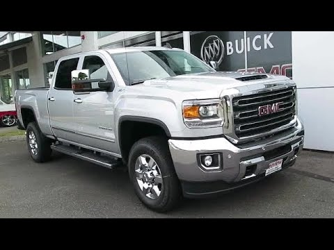 2018 GMC Sierra 2500hd SLT 2500 Hd 2wd Crew Cab Lynnwood  Everett  Seattle  Kirkland  Burlington