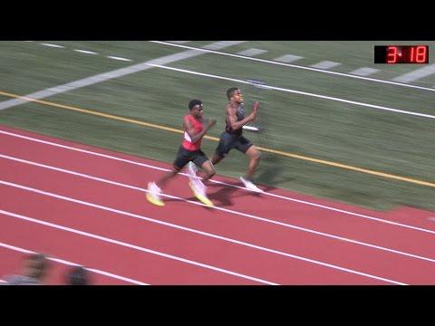 2015 Track - Tiger Invite - Varsity Men 4 x 400 Meter Relay