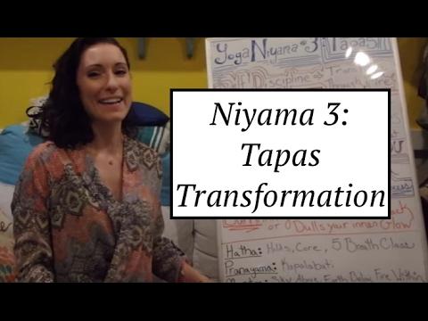 """Yoga Board"" Niyama #3: TAPAS- Transformation - LauraGyoga"