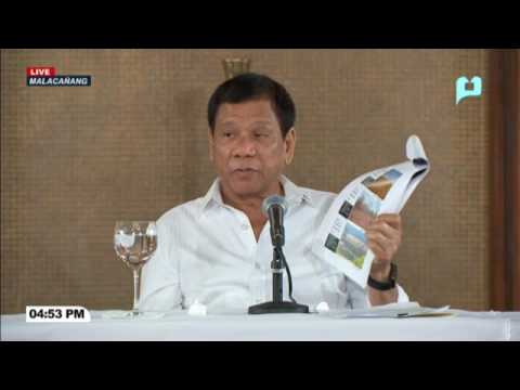MUST WATCH: PRRD's thoughts on the issue of Mining in the Philippines