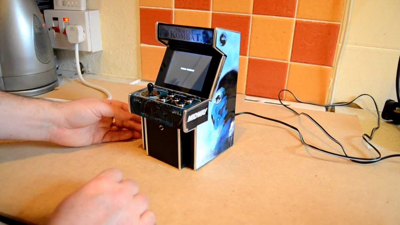 Mini Mortal Kombat - 20th Anniversary Arcade Machine - YouTube