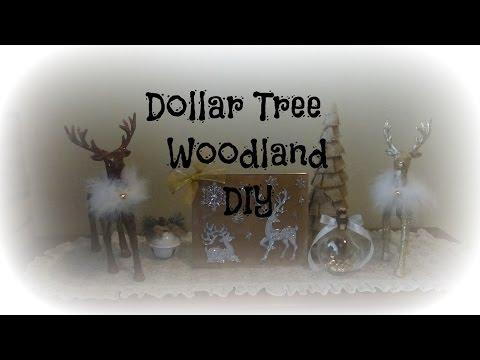 Simple Dollar Tree Woodland Diy