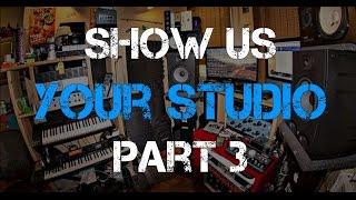 Show Us Your Studio Pt. 3 - Warren Huart