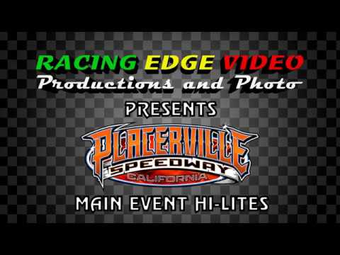 Placerville Speedway April 21st, 2018 Pure Stocks Main Event Highlights