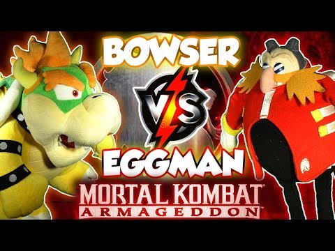 ABM: Bowser Vs Dr. Eggman !! MORTAL KOMBAT ARMAGEDDON !! Gameplay Match !! HD