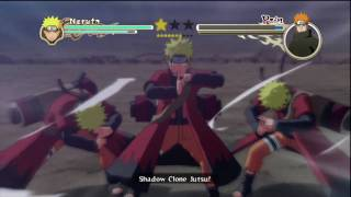 Naruto: Ultimate Ninja Storm 2 - Sage Naruto/6-Tails vs Pain Pt 1/2 HD