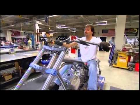 Steve Wyrick on American Chopper TV Commercial