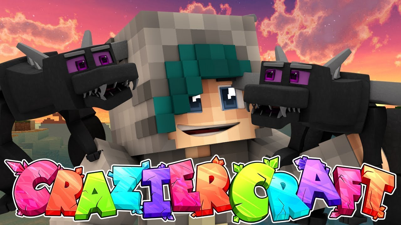 Download MY DRAGON BABY ENCLOSURE! - Minecraft CrazierCraft SMP - Ep.5