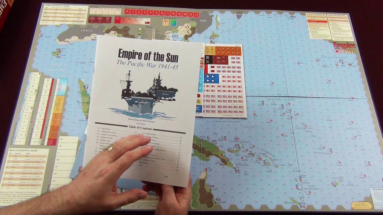 Empire Of The Sun From Gmt Games Unboxing Youtube