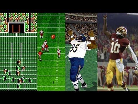 The Evolution of John Madden NFL Football