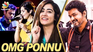 Jonita gandhi, the voice behind a.r.rahman's omg ponnu from sarkar shares her experience working with him, recording sessions a.r.rahman for various...