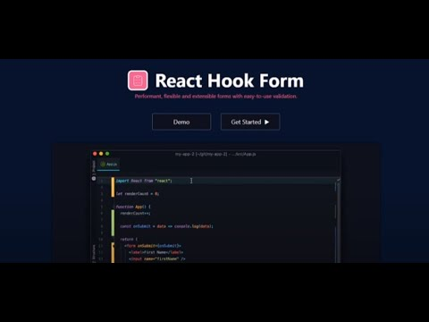 React Form Handling and Validation 📝 | The Easiest Way using React Hook Form