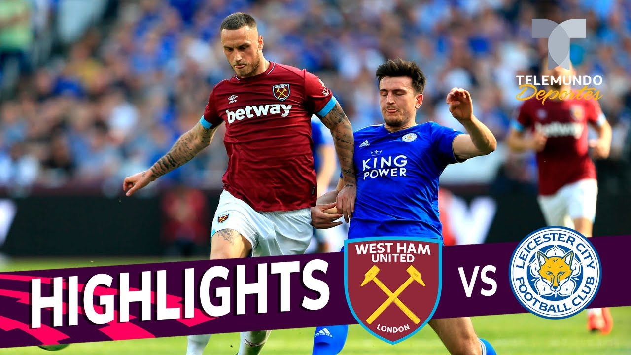 West Ham United Vs Leicester City 2 2 Goals Highlights