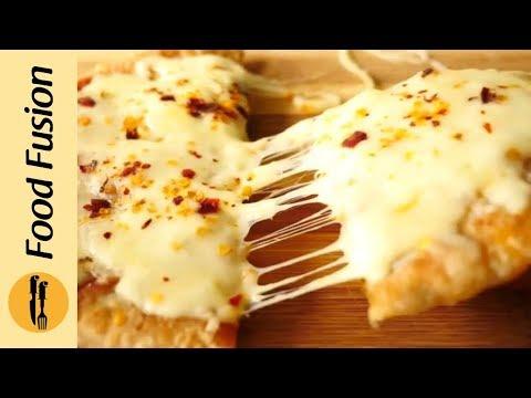 Pizzaratha Recipe By Food Fusion (Pizza + Paratha = Pizzaratha)