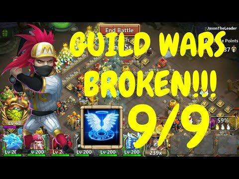 9/9 Revive Ronin In Guild Wars L Castle Clash
